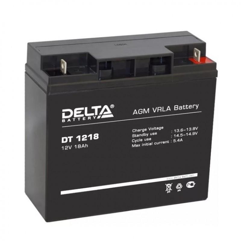 Аккумулятор 12V-18AH 1218 DT  Delta