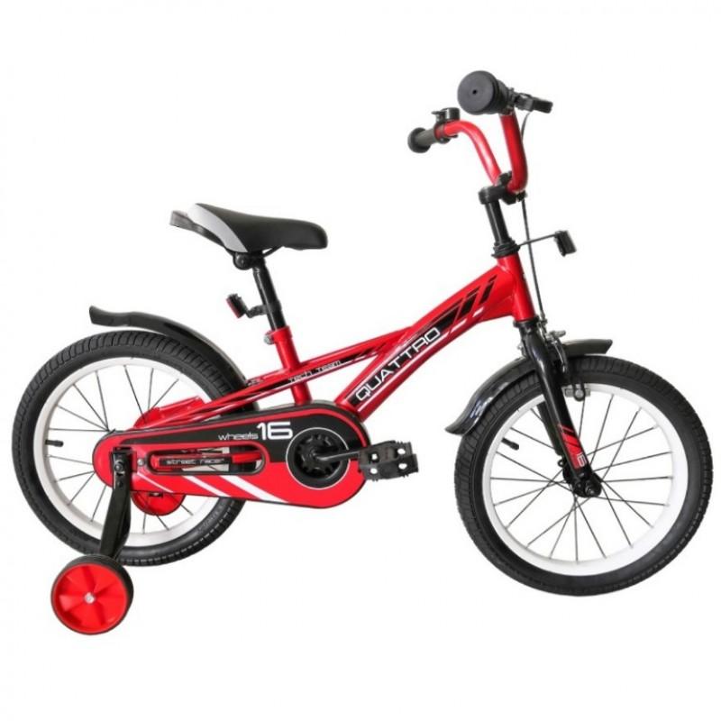 Велосипед 20  Tech Team Quattro красный