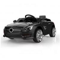 Электромобиль детский Mercedes-Benz S698BE цвет: черный  6V4,5AH*2, 2 мотора, р-у 2,4GHz, свет/звук, mp3, USB, открывается двери, размер 88*58*39