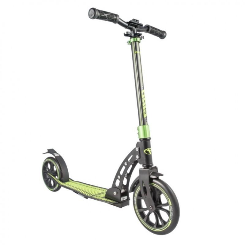 Самокат TT Giro 1/2  (Черно-зелёный)
