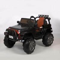 Электромобиль детский Jeep 45459 (Р) Полный привод! черный