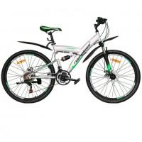Велосипед 26 Nameless V6200D-GR/GN(21), серый/зелёный