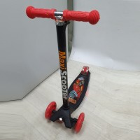 Самокат Scooter Maxi Print Music TJ-701M 4 цветов красный 1/6