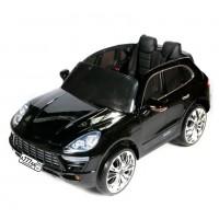 Электромобиль детский Porsche Macan 46332 черный глянец