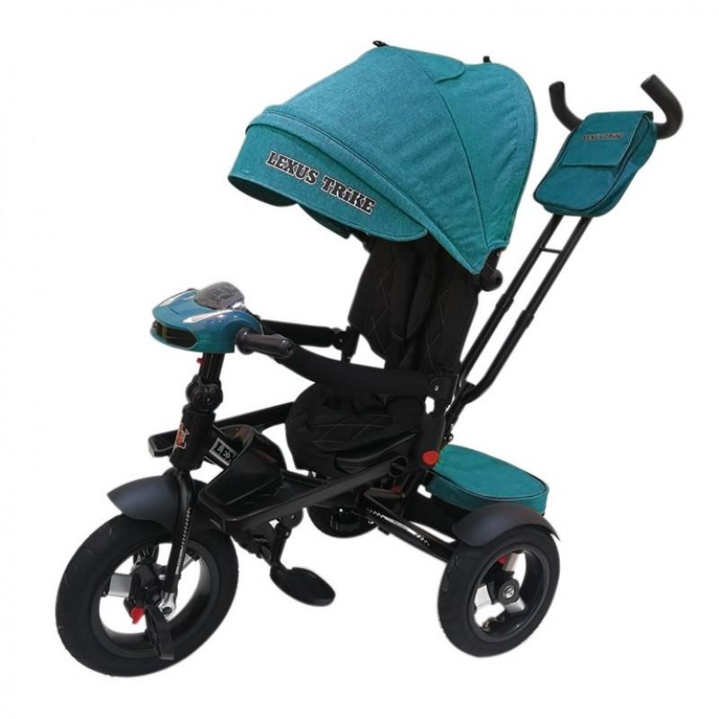 Детский 3-х колёсный велосипед Lexus Trike бирюзовый