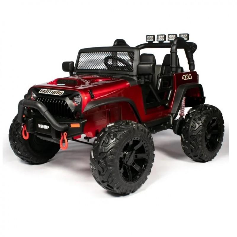 Электромобиль детский Jeep Wrangler M999MP  51699 (P) , красный глянец