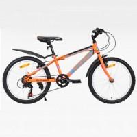 Велосипед 20 Avenger C200-OR/BLN-11(21) оранжевый/синий неон