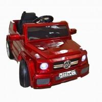 Электромобиль детский Mercedes-Benz 44847 Глянец  VIP вишневый