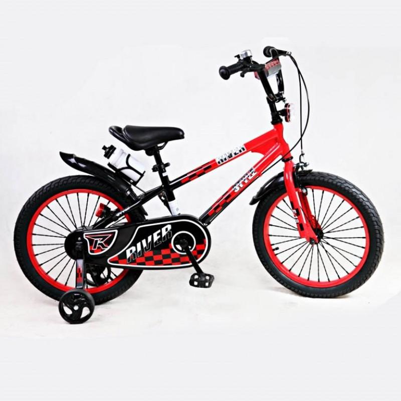 Велосипед 16 Riverbike F-16 красный/чёрный