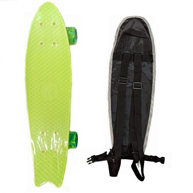 Скейтборд  ТТ Fishboard 23 light green 1/4 TLS-406