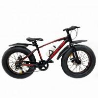 Велосипед 20  Fat bike FOREVER черный-красный
