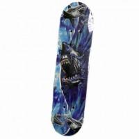 Скейтборд  636243  60*15см ,деревянный ,без света ,максимальная нагрузка до 40кг ,PVC