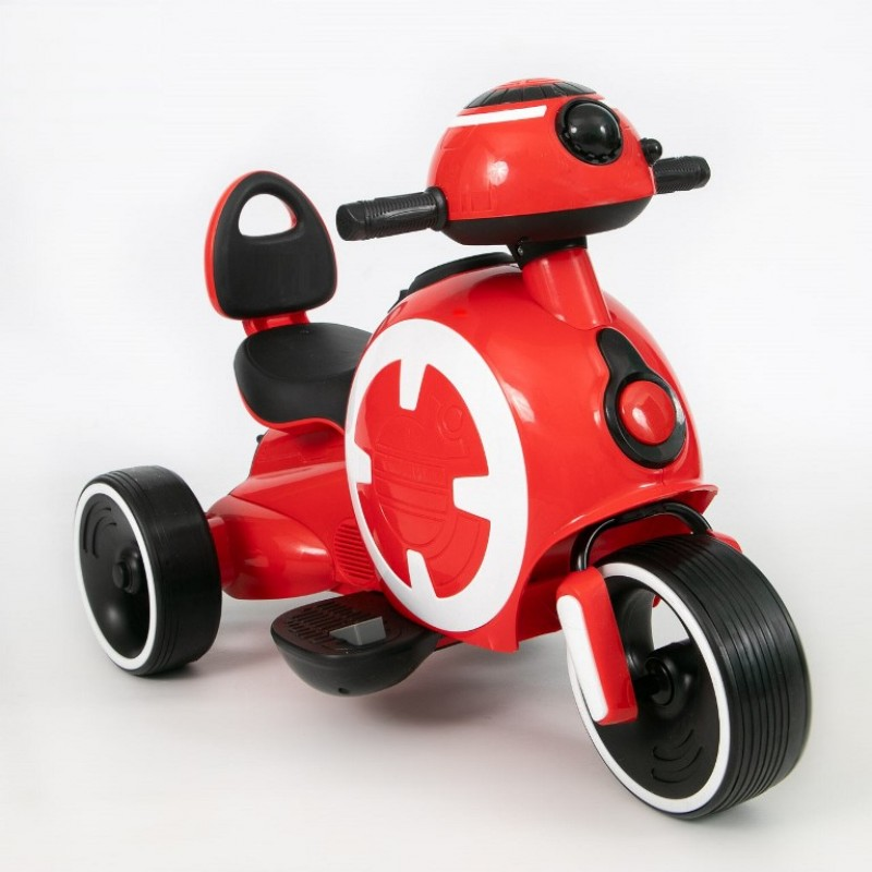 Электромотоцикл детский 45558 (Р) красный