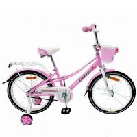 Велосипед 20  AVENGER LITTLE STAR, розовый/белый