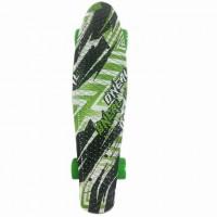 Скейтборд  636148  56см ,пластик ,принт, PU, крепления алюминевые в ассортименте