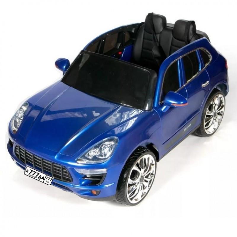 Детский электромобиль Porsche Macan 47902 синий