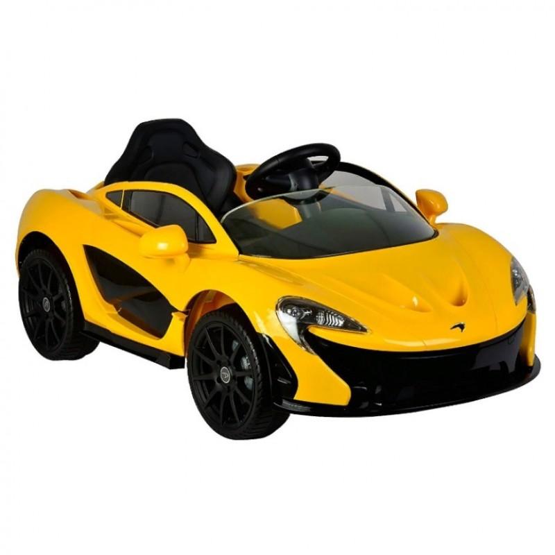 Электромобиль детский Mclaren Z672  50512 (Р) жёлтый