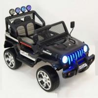 Электромобиль детский Jeep 42647 (4х4)  черный
