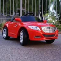 Электромобиль детский Mercedes-Benz 48994 седан красный