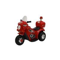 Электромотоцикл детский TR 998 красный  6v.4Ah  80*37*53
