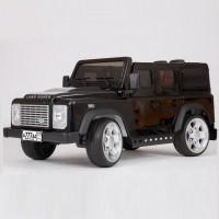 Электромобиль детский Land Rover Defender (DMD-198) 45460 (Р) черный, глянцевый
