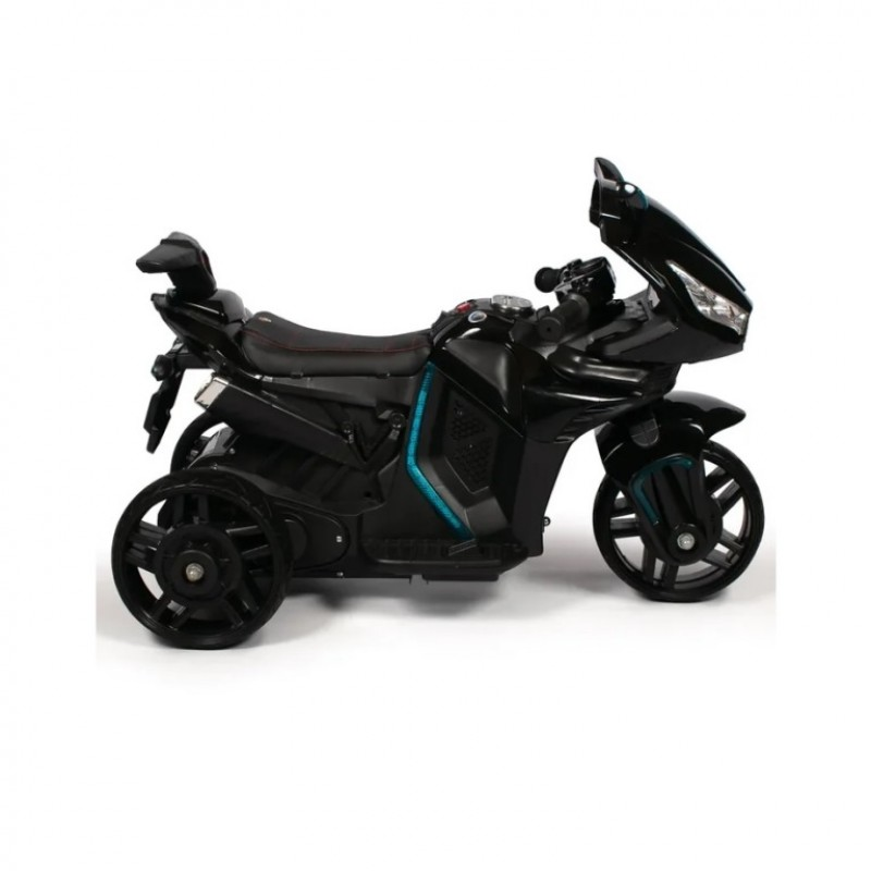 Электромотоцикл детский M777AA  51642 (Р) чёрный глянец