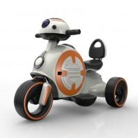 Электромотоцикл детский 45556 (Р) белый