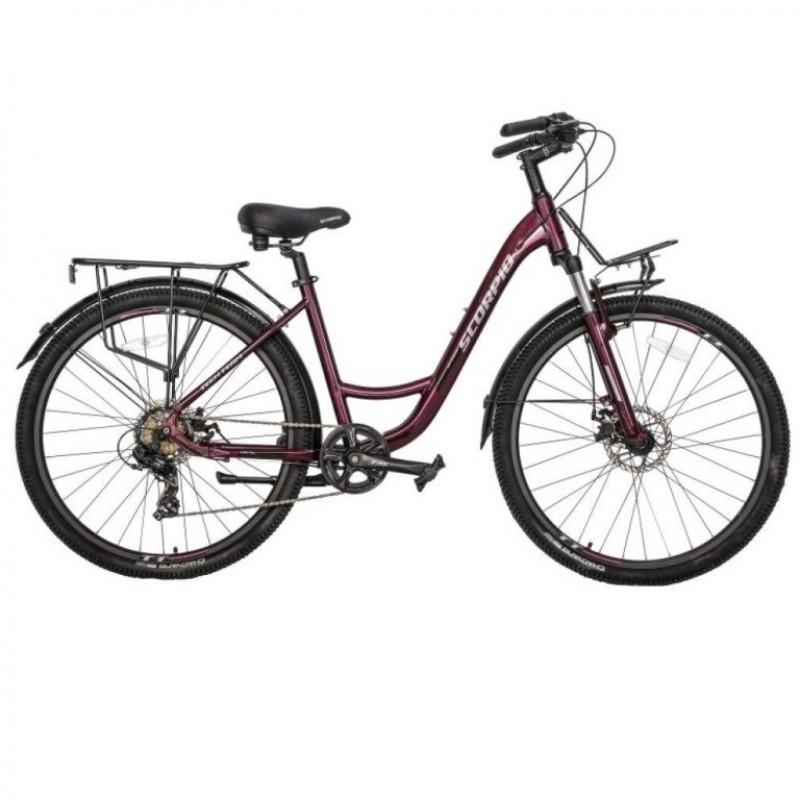 Велосипед 27,5 TT Scorpio 17 вишнёвый