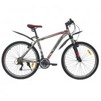 Велосипед 27,5 Nameless S7000 серый/красный 19