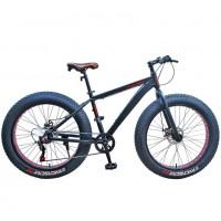 Велосипед 26 Fat bike Avenger C262D-17 чёрный (2021)