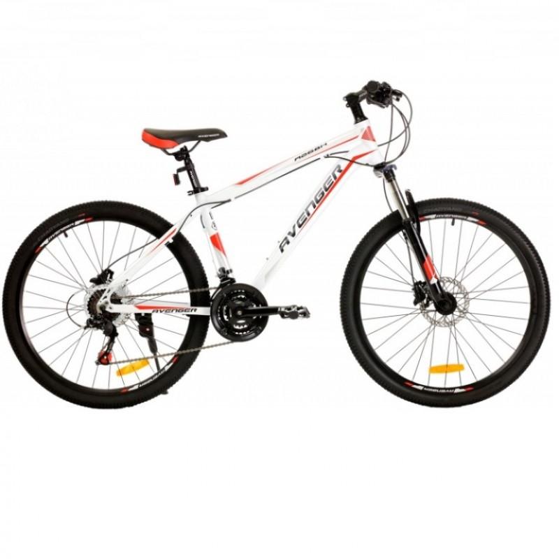 Велосипед 26 Avenger A268H-WT/RD-18 белый/красный  18