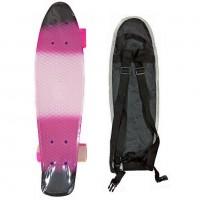 Скейтборд  ТТ Multicolor 22 pink/black 1/4 TLS-401M