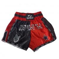 Шорты ММА GARAGE UFC красн-черн разм L