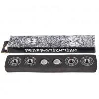 Подшипник  для самоката ABEC-9  4шт 2 шайбы в картонной коробке