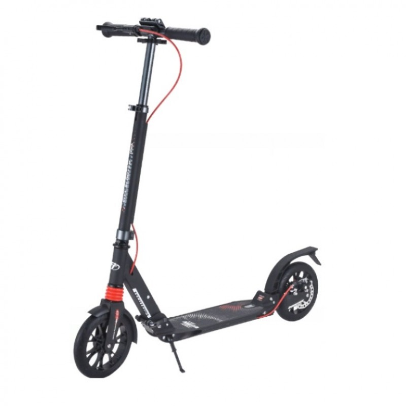 Самокат TT City Scooter Disk Brake 2021 ( Черный )