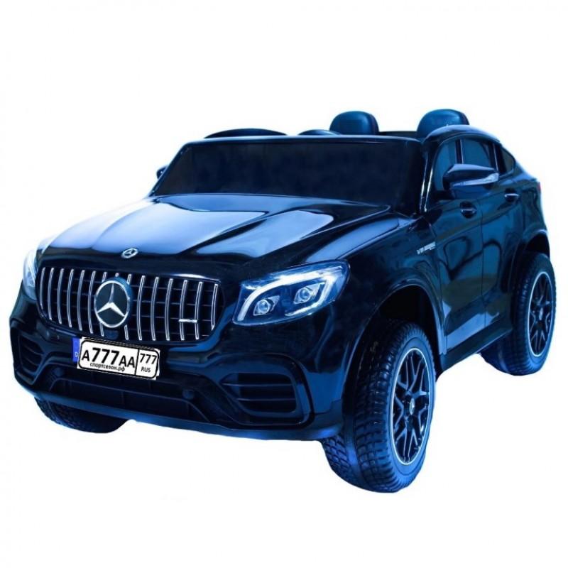 Электромобиль детский Mercedes-AMG GLC 63 S Coupe XMX 608 49928 (Р) полный привод, чёрный глянец