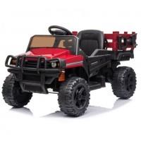 Детский электромобиль грузовик TR 999, с кузовом 50369 красный (Р)