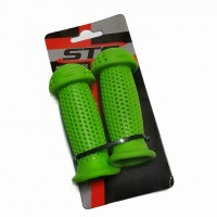Грипсы Х87794 STG GR112 100 мм, зеленый,