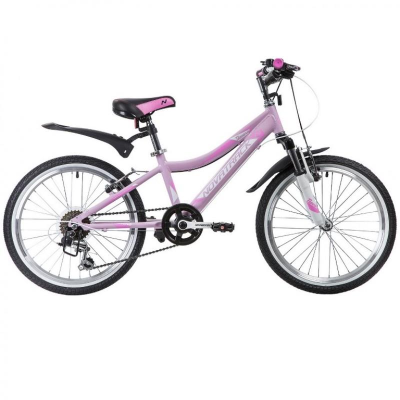 Велосипед 20  Новатрек AH6V.NOVARA.PN9  6 скоростей, алюминий, розовый