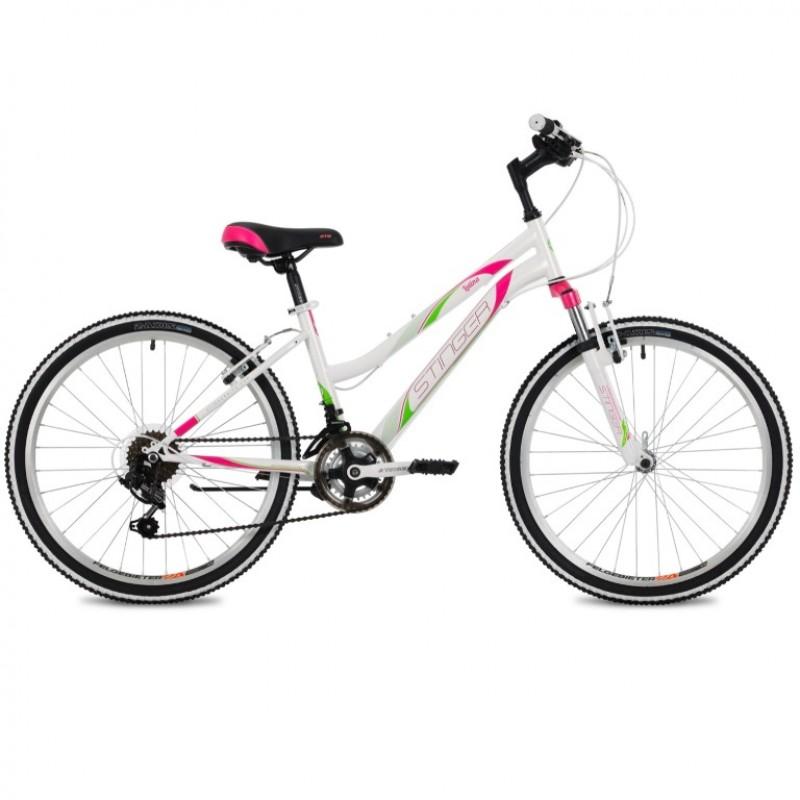 Велосипед 24 Stinger SHV.LATINA.14WH10 белый