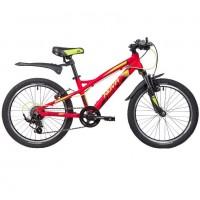 Велосипед 20 Novatrack AH7V.TORNADO.BK9 алюминевый чёрный 7-ск.
