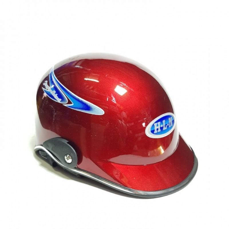 Шлем  мотоциклетный Helmet H-L-N маленьк красный
