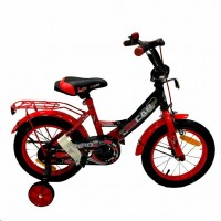 Велосипед 16 OSCAR TURBO Black-Red (черный/красный) 2021 2021