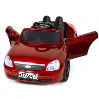 Детский электромобиль Lada 50195 вишнёвый глянец