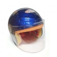 Шлем  мотоциклетный Helmet H-L-N Большой синий