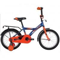 Велосипед 14 Novatrack ASTRA BL20 синий