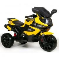 Электромотоцикл детский Мотобайк 47109 (Р) жёлтый