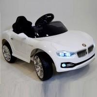 Электромобиль детский BMW 48662 седан белый