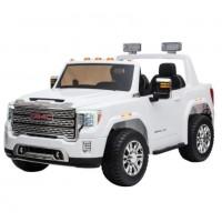 Электромобиль детский Ford GMC 50371 (Р) 4WD двухместный белый