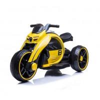 Электромотоцикл детский M010AA  50479 (Р) жёлтый